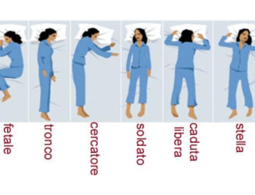 Posizioni del sonno e significati nascosti