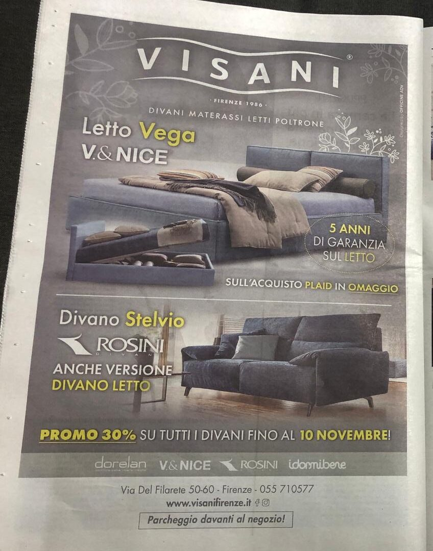 Offerte Saldi Visani