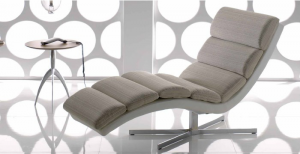 chaise longue Crystal