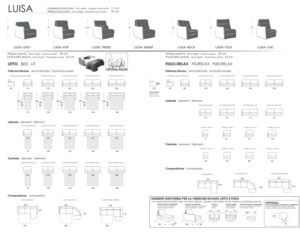 scheda tecnica Luisa Sistema Evolution