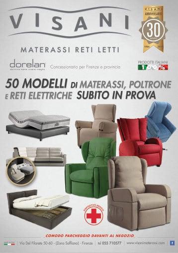 Visani 50 modelli di materassi
